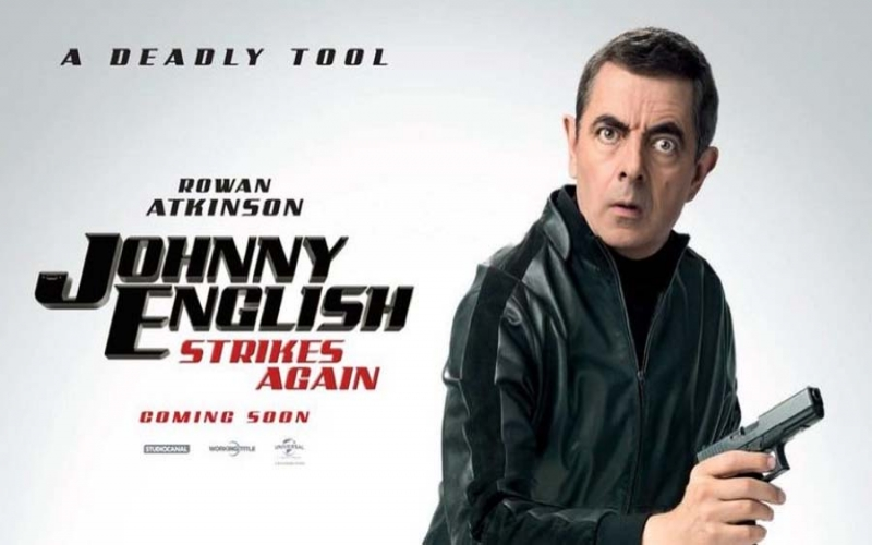 Filme Johnny English 3.0, uma bem humorada paródia de James Bond
